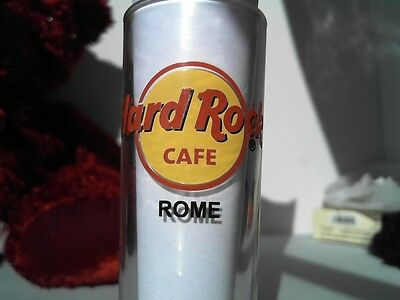 "Hard Rock Cafe ROME 4"" SHOT GLASS Classic HRC Logo BLACK Lettering"