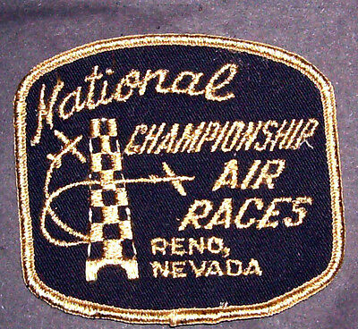 Vintage National Championship Air Races Reno Nevada Patch