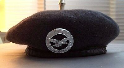 Royal Air Force Wool Knitted Cadets Beret Official Juniors Size 53