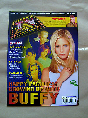 Tv Zone Magazine Issue #138 - Buffy The Vampire Slayer Featured Cover