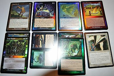 44 card complete Magic the Gathering Apocalypse uncommon set with FOILS