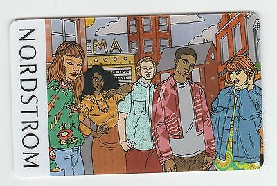 Nordstrom no value collectible gift card mint #09 People