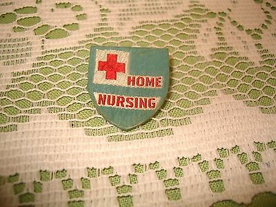 1941, Home Nursing pin, American Red Cross