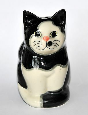 Quail Black & White Cat with Spot on Face