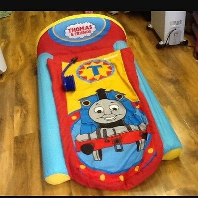 Thomas The Tank Engine~My First Ready Bed~ Air Bed & Sleeping Bag Combined +Pump