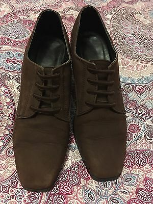 Brown 1920's/ 1940's Style Shoes 4