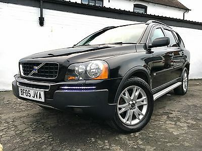 Volvo Xc90 D5 Se Awd Auto, Black Leather, Low Road Tax Model, 7 Seater, Diesel!