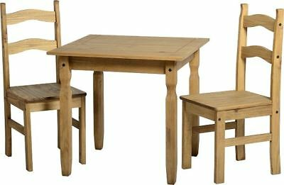Rio Dining Set Distressed Waxed Pine