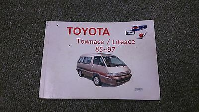 Toyota Townace / Liteace 1985 - 1997 85-97 - Owner's Manual / Handbook - FRO320