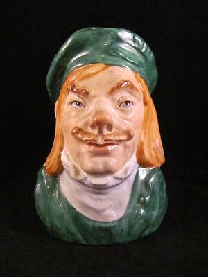 Antique Vintage Toby Character Face Mug Royal Dux Style Czechoslovakia 6 in