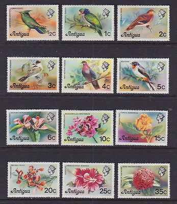 Anguilla 1974 Mint MLH Full Set Definitives Birds Flowers Landmarks Canon Planes