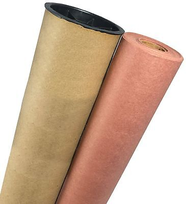 """18"""" X 150' Premium Quality Pink/Peach Butcher Paper Roll with Durable Carry T..."""