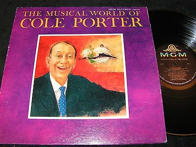 COLE PORTER The Musical World Of Cole Porter / 60s US LP MGM E3843