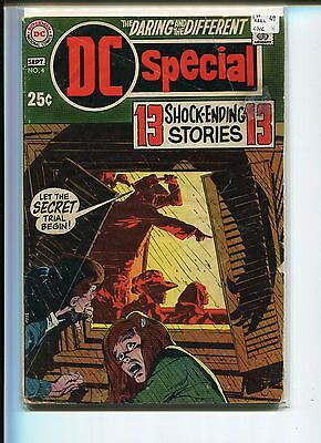 DC SPECIAL 4 VG-  1st ABEL   ADAMS COVER 1969
