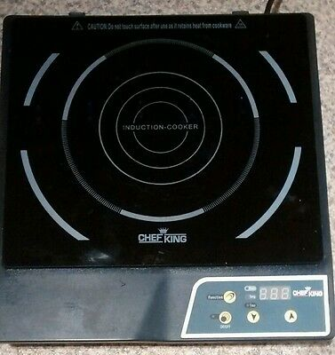 Chef King Portable Induction Hob