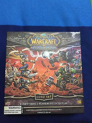 NEW:World of Warcraft Miniatures Game Deluxe Edition Core Set Upper Deck UNUSED