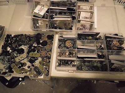 Axis and allies miniatures 20 Japanese mini, with  cards, great army builder