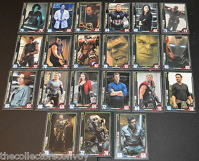 HERO ATTAX Marvel Cinematic Universe: Avengers Age of Ultron INDIVIDUAL card