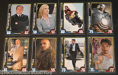 HERO ATTAX Marvel Cinematic Universe: Iron Man - INDIVIDUAL card