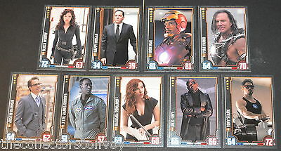 HERO ATTAX Marvel Cinematic Universe: Iron Man 2 - INDIVIDUAL card