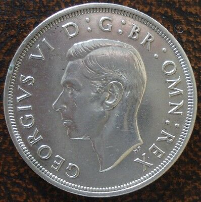 GREAT BRITAIN: Silver Crown 1937 AUNC (570)