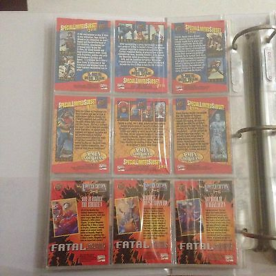 1994 Fleer Ultra X-Men Blue And Gold Team Trypic Chase Cards