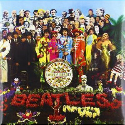 BEATLES Sgt Peppers Lonely Hearts Club Band LP VINYL European Emi 2012 13 Track