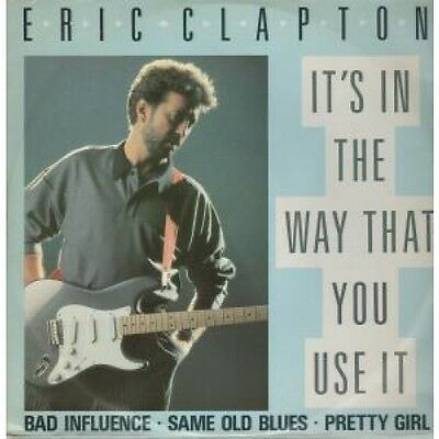 """ERIC CLAPTON It's In The Way That You Use It 12"""" VINYL UK Duck 1987 4 Track"""