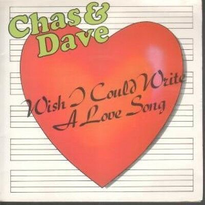 """CHAS AND DAVE Wish I Could Write A Love Song 7"""" VINYL UK Prt 1982 Gatefold Pic"""