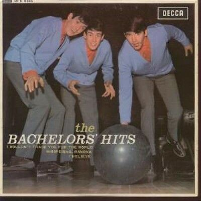 "BACHELORS Hits 7"" VINYL UK Decca 1964 4 Track Mono EP Featuring I Wouldn't"