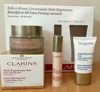 Clarins Extra-Firming Day Cream 50Ml 3Pcs Pack - New