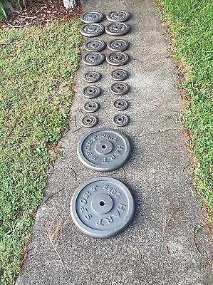 Barbell And Weights Set