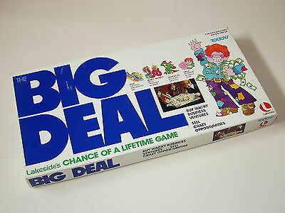 VINTAGE 1970's *BIG DEAL* BOARD GAME BY TOLTOYS - COMPLETE IN GREAT BOX!!