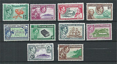 Pitcairn Islands 1940 Set to 2/6 (10) Mounted Mint SG1/8