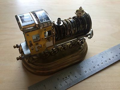 Train made from watch parts
