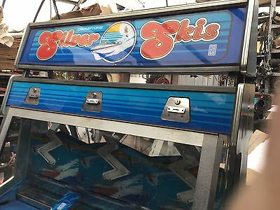 SILVER SKIS 2p pusher arcade machine