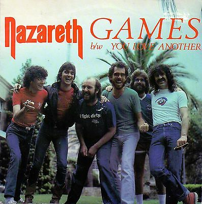 "Nazerath  Games / You Love Another  7"" Single"