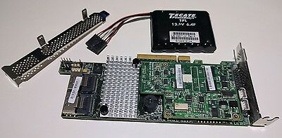 LSI 9266-8i 8-port 6Gb/s SATA+SAS PCI-E 2.0 RAID Controller Card with SuperCap