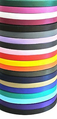 25mm Webbing x  5 Metres 20 Colours,Bags,Straps,Handles,Dog Leads,Collars,Crafts