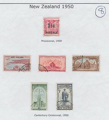 New Zealand  Page From An Old Album  1950   (8)