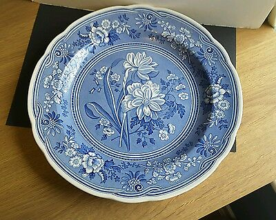 Spode Blue Room Collection BOTANICAL Plate