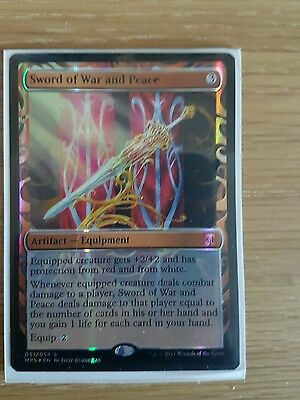 MtG Sword of War and Peace, In Hand UK Seller