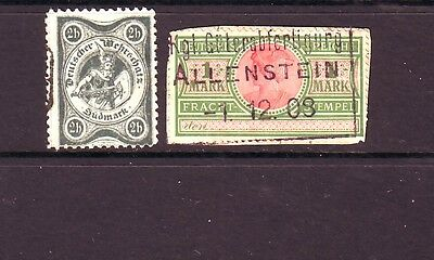 Dt Privatpost 2stamps gest