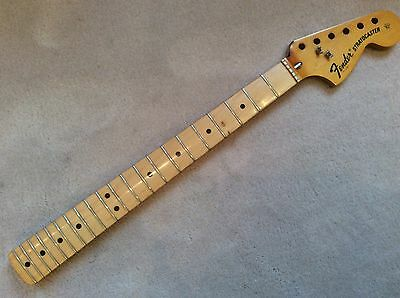 1972 Vintage Fender USA Maple Stratocaster Neck Strat Nice Clean Condition 72