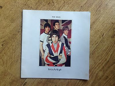 The Who Programme The Kids Are Alright