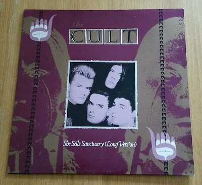 """""""She Sells Sanctuary"""" (1985) by The Cult on 12"""" vinyl"""