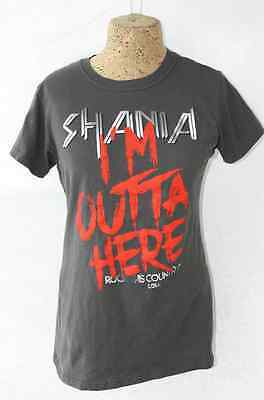 Authentic SHANIA TWAIN 2015 Rock This Country Tour T-Shirt Youth L
