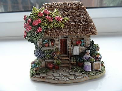 lilliput lane - say it with flowers ( fantastic detailing )