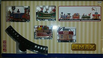 Lemax Christmas Village Train Collection THE STARLIGHT EXPRESS Sights Sounds