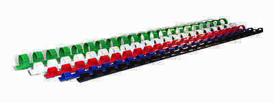 21 Ring A4 Oval Binding Combs - various colours & quantities, sizes 32 to 51mm